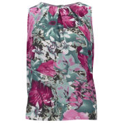 Influence Women's Floral Top - Pink