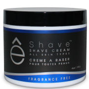 eShave Fragrance Free Shave Cream 118ml