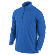 Nike Men's Element Half Zip Top - Cobalt Blue