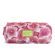 Marc by Marc Jacobs Pretty Nylon Aki Floral Narrow Cosmetic Bag - Knockout Pink Multi