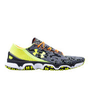 Under Armour Men's SpeedForm XC Running Shoess - Charcoal/High-Vis/Black
