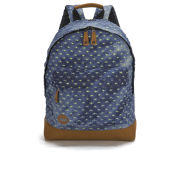 Mi-Pac Premium Distressed Denim Backpack - Denim