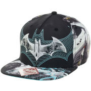 DC Comics Batman Arkham Knight Batmobile Sublimation Snapback Baseball Cap