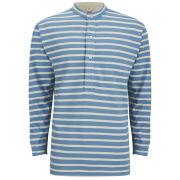 Nigel Cabourn X Armor Lux Men's Grandad T-Shirt - Sky