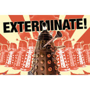 Doctor Who Daleks Exterminate - Maxi Poster - 61 x 91.5cm