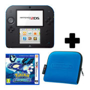 Nintendo 2DS Black/Blue Pokémon Alpha Sapphire Pack
