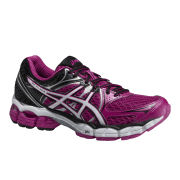 Asics Women's Gel Pulse 6 Cushioning Running Shoes - Hot Pink/White/Onyx
