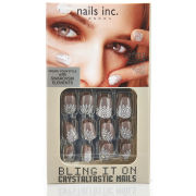 nails inc. Bling It On Crystaltastic Nails - Nude Lace