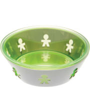 Alessi Mini Girotondo Round Basket - Green