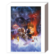 Star Wars Empire Strikes Back One Sheet - 50 x 40cm Canvas