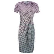 Diane von Furstenberg Women's Zoe Drape Dress - Foulade Ombre