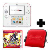 Nintendo 2DS White/Red Pokémon Omega Ruby Pack