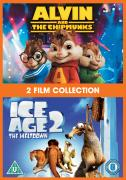 Alvin and the Chipmunks / Ice Age 2: The Meltdown