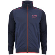 Jack and Jones Men's Albany Sweat Track Jacket - Dress Blue