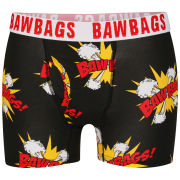 Bawbags Men's Kapow Boxer Shorts - Black