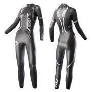 2XU Women's V-3 Velocity Wetsuit - Black/Silver