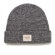 Farah Vintage Men's Ribbed Beanie - Charcoal Marl