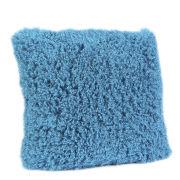 Malini Faux Mongolian Cushion - Turquoise