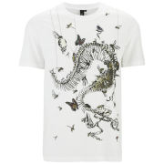 McQ Alexander McQueen Men's Dropped Shoulder T-Shirt - Optic White