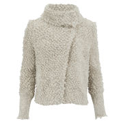 IRO Women's Caty Wool Mix Jacket - Ecru