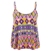Influence Women's Aztec Print Top - Multi