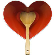 Sagaform Heart Bowl with Ladle