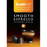 Dualit 15703 Smooth Espresso NX Coffee Capsules (10 Pack)