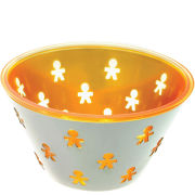 Alessi Mini Girotondo Round Basket - Orange