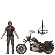 The Walking Dead TV Deluxe Box Daryl Dixon with Chopper