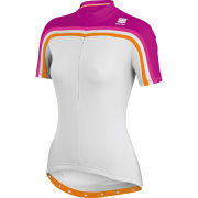 Sportful Allure Womens Jersey - White/Purple