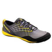Merrell Men's Trail Glove 2 Trail Running Shoes - Wild Dove Grey/Lemon
