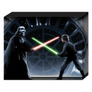 Star Wars Vader Vs Luke - 50 x 40cm Canvas