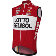 Lotto Belisol Team Replica Kaos Trevalli Gilet - Red 2014