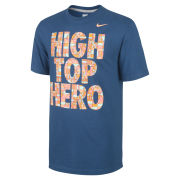 Nike Men's High Top Hero T-Shirt - Blue