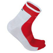 Sportful Gruppetto Pro Socks 12 - White/Red