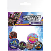 Marvel Guardians of the Galaxy Characters - Badge Pack