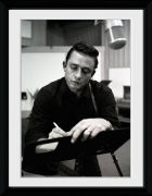 Johnny Cash Songwriting - 16x12 Framed Photographic