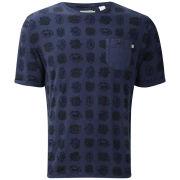 Farah 1920s Men's Ransom Crew T-Shirt - Deep Indigo