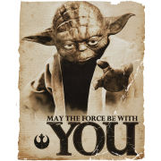 Star Wars Yoda Force - Mini Poster - 40 x 50cm