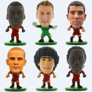 SoccerStarz - Belgium Team Player Figures