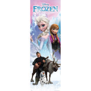 Disney Frozen Anna and Elsa - Door Poster - 53 x 158cm