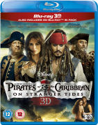 Pirates of Caribbean 4: On Stranger Tides 3D (Bevat 2D Blu-Ray)