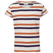 Jack & Jones Men's Robit Stripe T-Shirt - Cloud Dancer