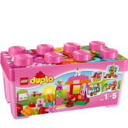 LEGO DUPLO Creative Play: All-in-One-Pink-Box-of-Fun (10571)