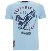 Ringspun Men's Eagles T-Shirt - Sky Marl