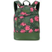 WANT Les Essentiels de la Vie Men's Kastrup Backpack - Tropical Garden/Palm Green
