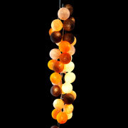 Cable & Cotton String Light 35 Balls - Caramel Swirl