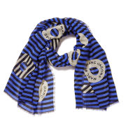Marc by Marc Jacobs Women's Peephole Logo Scarf - Conch Blue