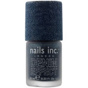 nails inc. Bermondsey Denim Polish (10ml)