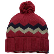 Craghoppers Men's Knitted Bobble Hat - Dark Red - One Size